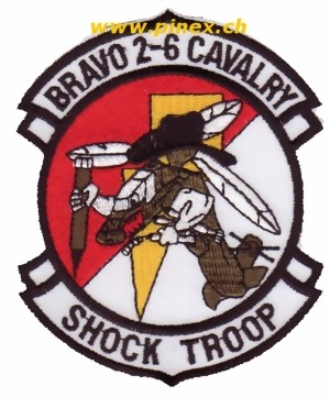 Picture of Bravo 2-6 Cavalry Shock Troop Helikopter Patch