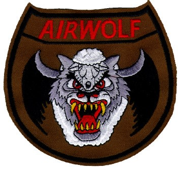 Photo de Airwolf Logo Aufnäher