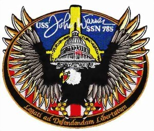 Picture of USS John Warner SSN 785 U-Boot Badge