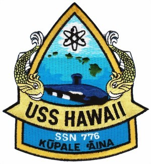Photo de USS Hawaii SSN 776 U-Boot Aufnäher  Kūpale 'Āina