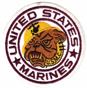 Picture of United States Marines Patch weiss