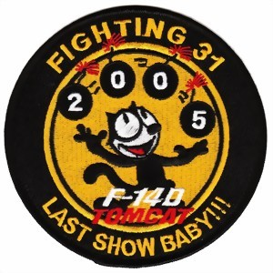 Photo de Fighting 31 Last Show Baby F-14D Tomcat Patch