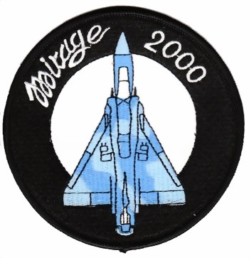 Photo de Mirage 2000 Abzeichen, 100mm