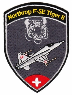 Picture of Swiss Air Force Northrop Tiger F5e Patches