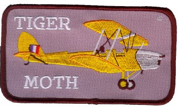 Photo de Tiger Moth Abzeichen  Size 115mm