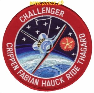 Photo de STS 7 Challenger Space Shuttle Aufnäher