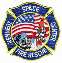Bild von Kennedy Space Center Feuerwehrbadge, Badge sapeurs-pompiers kennedy space center ecusson brodé