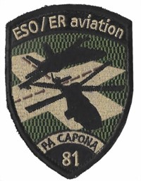 Bild von ESO / ER Aviation 81 noir Badge avec Velcro