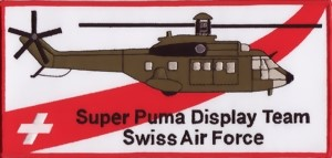 Photo de Super Puma Display Team Abzeichen