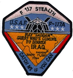 Bild von F117 Stealt Fighter Mission Iraq  113mm