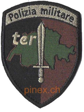 Photo de Polizia militare  Badge mit Klett