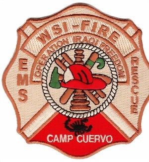 Photo de Firefighter Patch Operation Iraqi Freedom