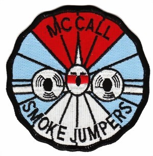 Photo de Smoke Jumpers Abzeichen Feuerspringer Badge