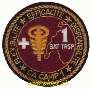 Photo de Badge Bat Transport Armée suisse Bat Trsp 1