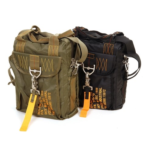 Photo de Aktentasche Tragtasche imStyl Helmtasche Airforce