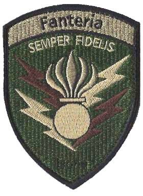 Photo de Fanteria Semper Fidelis Isone Grenadier Badge mit Klett