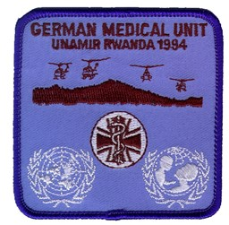 Bild von German Medical Unit UNAMIR Rwanda 1994