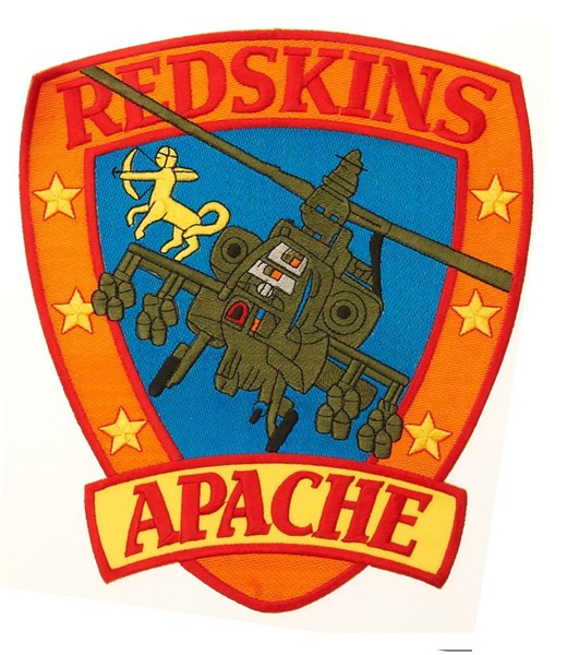 Photo de Apache Red Skins Abzeichen large