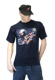 Photo de Patrouille Suisse T-Shirt Head Frontseite