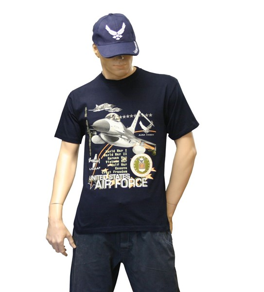 Photo de U.S. Air Force T-Shirt Navyblue