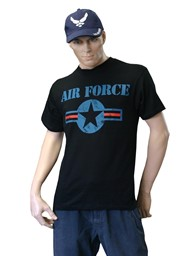 Photo de US Air Force T-Shirt schwarz