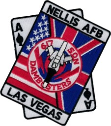 "Bild von NELLIS Air force Base Las Vegas 617th Squadron ""Dambusters"""
