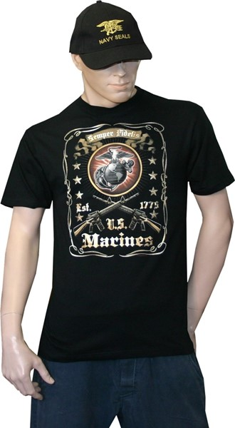 Photo de US Marine Corps Est. 1775 T-Shirt
