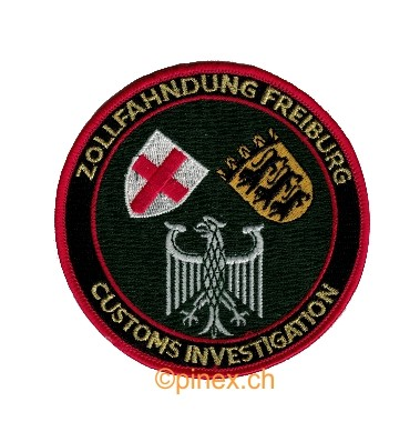 Photo de Zollfahndung Freiburg Customs Investigation Zollabzeichen