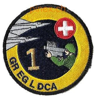 Photo de Gr EG L DCA 1 gelb mit goldener Nummer