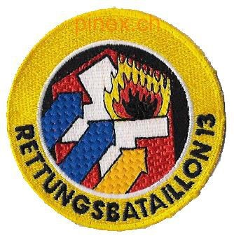Photo de Rettungsbataillon 13 gelb Armeebadge
