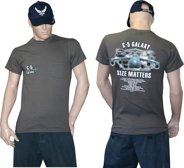 Photo de C-5 Galaxy T-Shirt