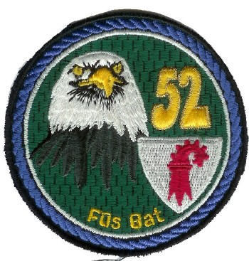 Picture of Badge Füsilierbataillon 52  blau