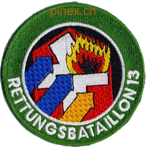 Photo de Rettungsbataillon 13 grün Armeebadge