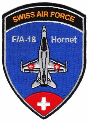 Photo de F/A-18 Hornet Pilot Patch Wappen 93mm