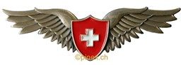 Bild von Swiss Pilot Wings Pin small 48mm