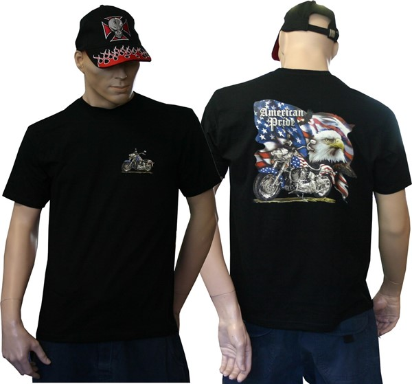 Photo de American Pride Biker T-Shirt
