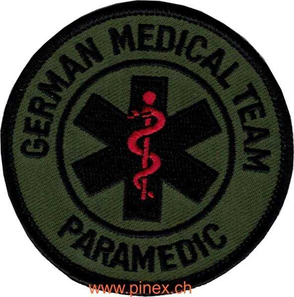 Photo de German Medical Team Paramedic tarn