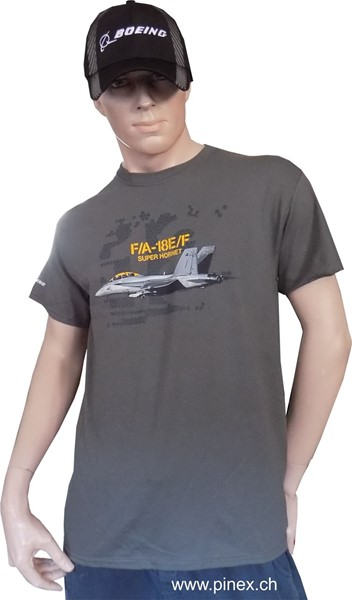 Photo de F/A-18 Super Hornet T-Shirt Flugzeug Tshirt