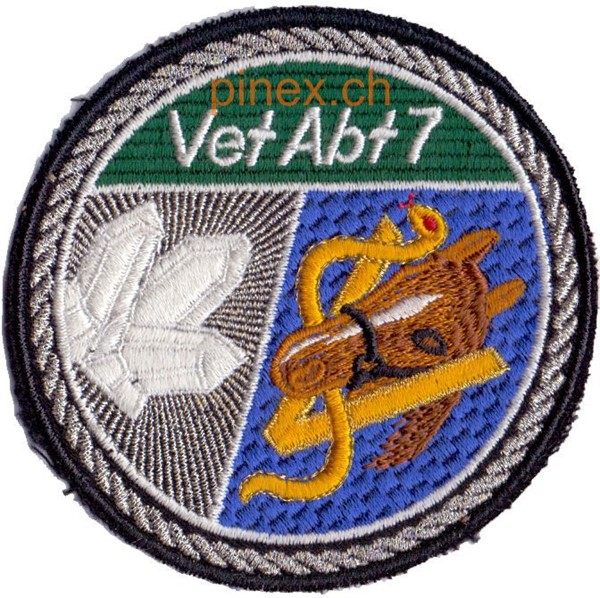 Photo de Vet Abt 7 silber Armeebadge