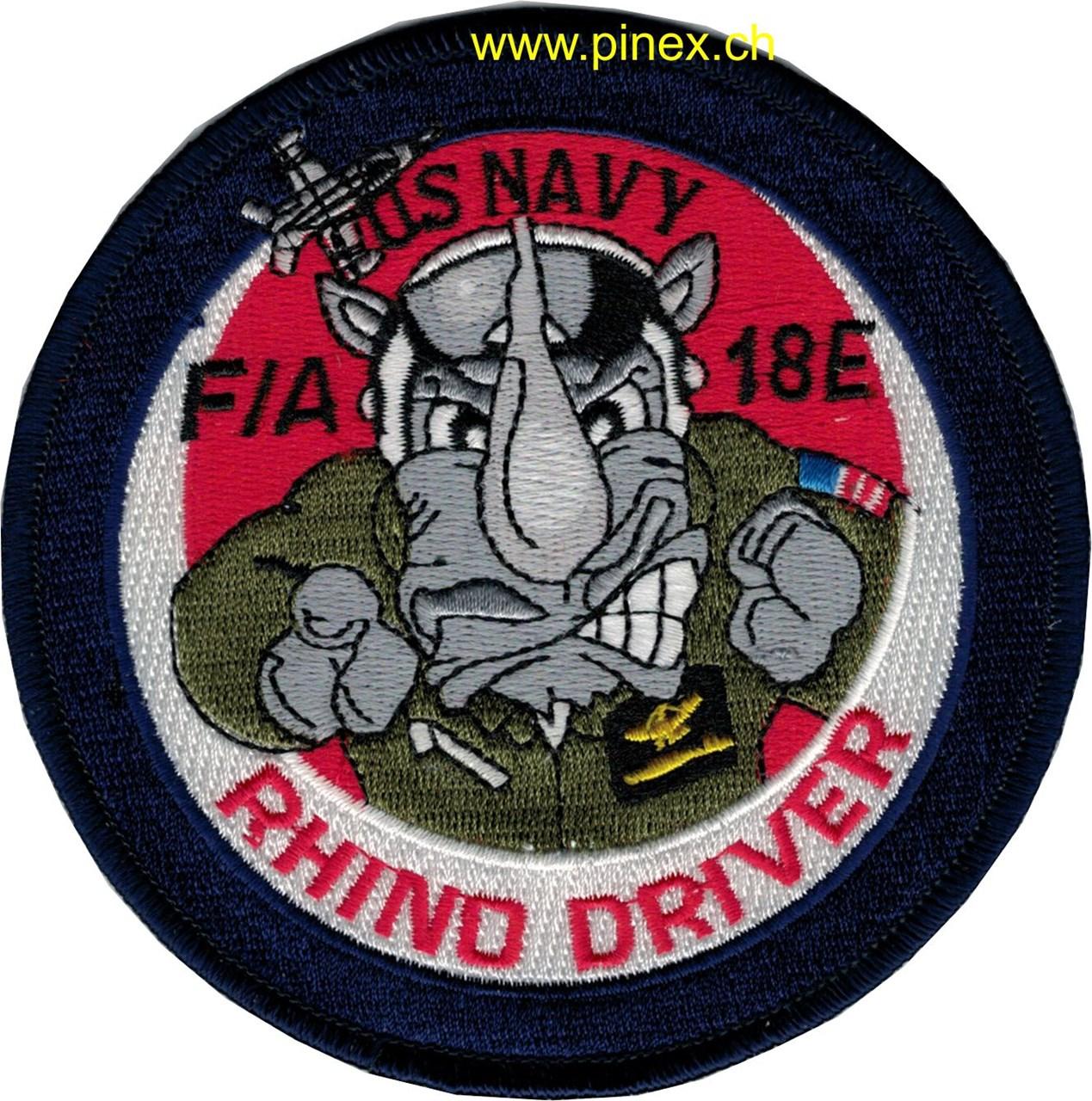 Us Navy F 18 Hornet Systemabzeichen 110mm Pinex Badges