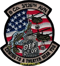 Bild von 3rd Helicopter Squadron Patch 126th Regiment OEF 07-09