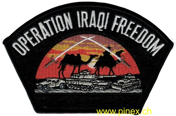 Picture of Operation Iraqi Freedom OIF Patch