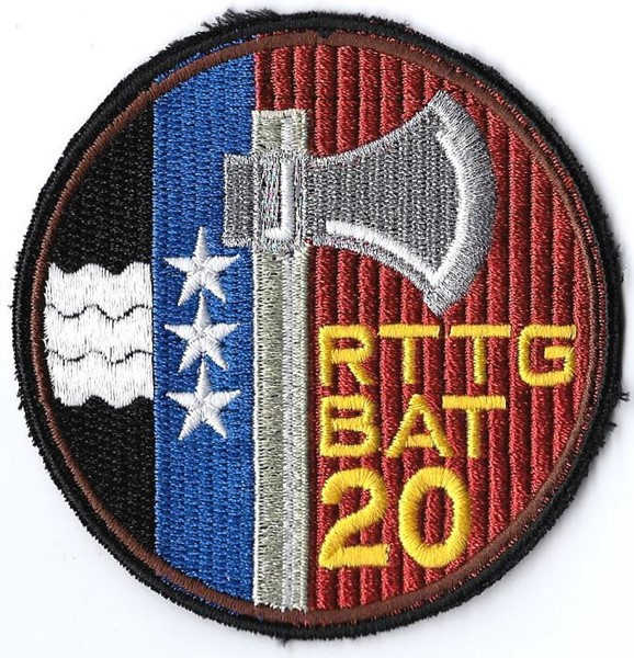 Photo de Rttg Bat 20 braun Armeebadge