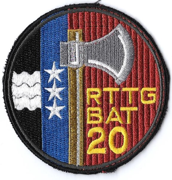 Picture of Rttg Bat 20 schwarz  Armee Badge