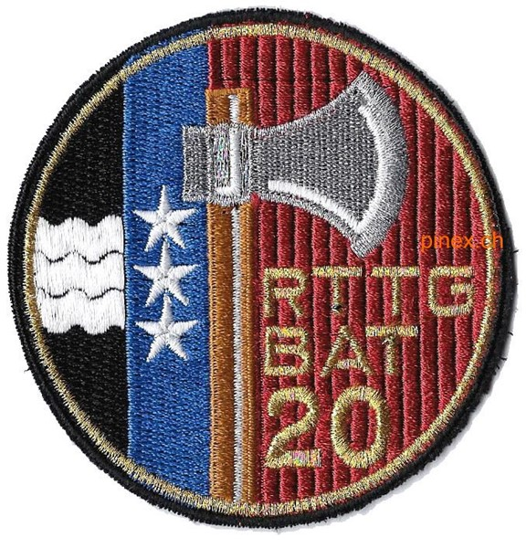 Photo de Rttg Bat 20 gold  Armeebadge