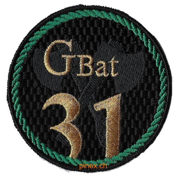 Photo de Genie Bat 31 grün Militärbadge