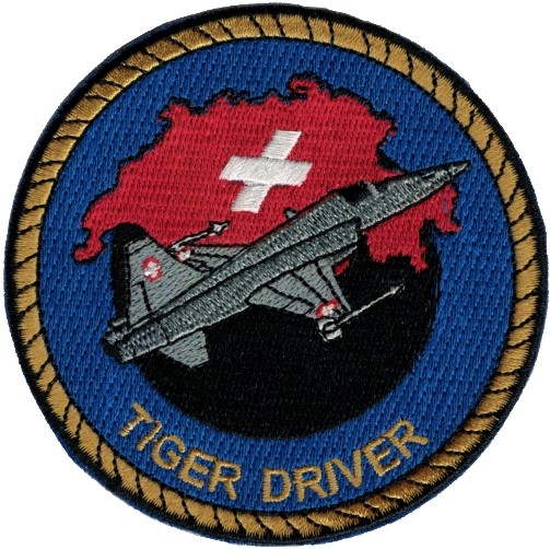 Photo de Tiger Driver Patch