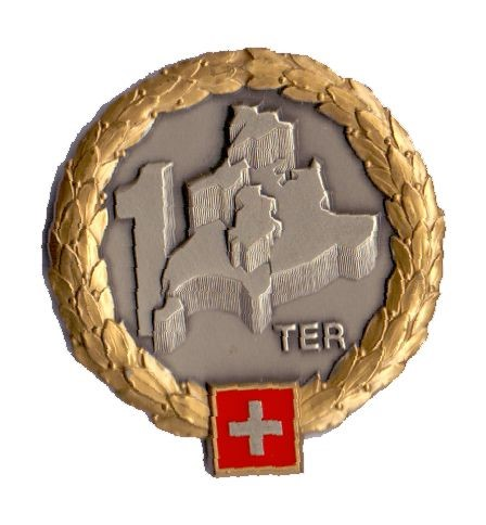 Photo de Territorialdivision 1 GOLD Béret Emblem