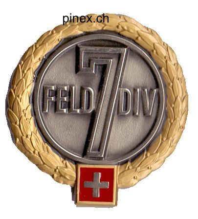 Photo de Felddivision 7 GOLD  Béretemblem