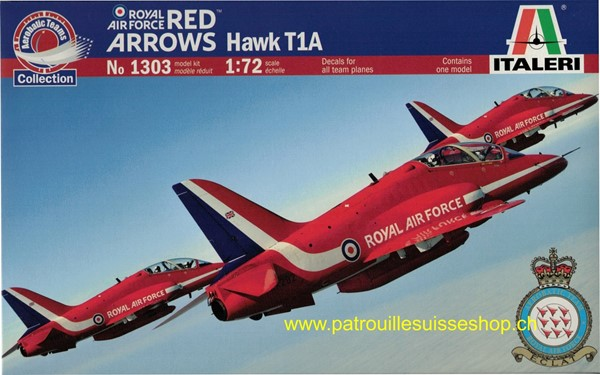 Photo de Hawk T1A Red Arrows RAF Plastikbausatz